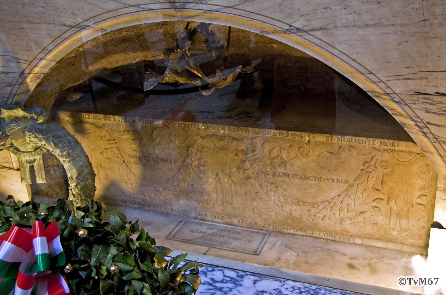 Roma, Pantheon, Graf Rafael, 2009