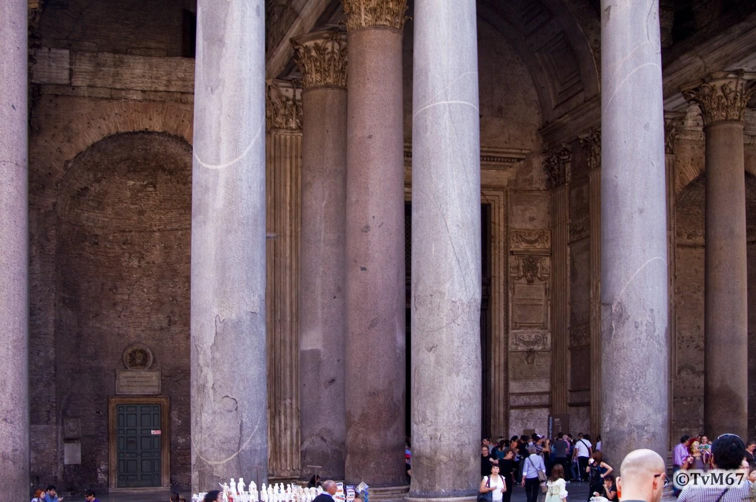 Roma, Pantheon, Narthex 1, 2009