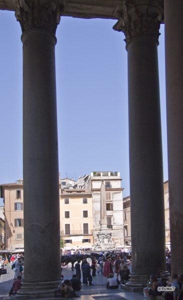 Roma, Pantheon, Narthex 2, 2009
