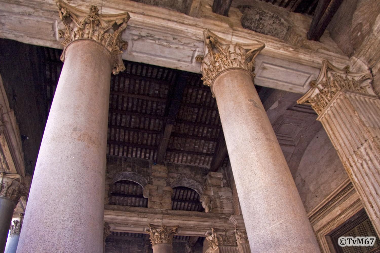 Roma, Pantheon, Narthex 3, 2009