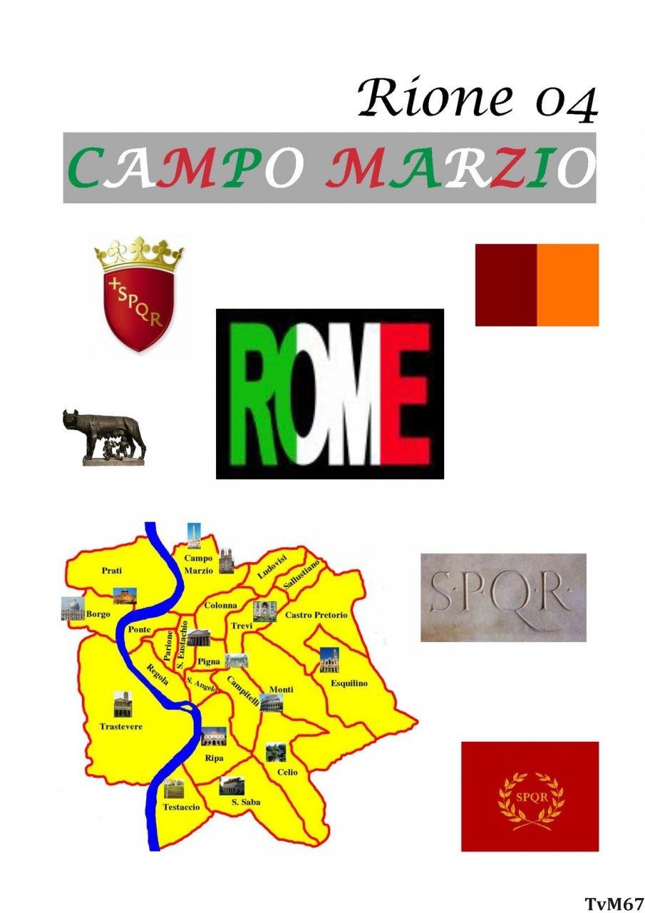 04 Rione di Campo Marzio IV, Algemene Info
